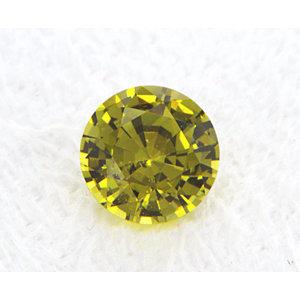 Sapphire Round 0.99 carat Yellow Photo