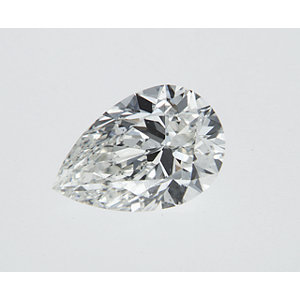 Pear Shape 0.32 carat J SI1 Photo