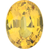 Oval Genuine Yellow Sapphire