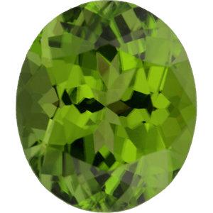 Peridot Oval 5.70 carat Green Photo