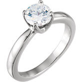4-Prong Medium Solstice Solitaire® Engagement Ring