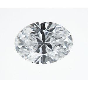 Oval 0.31 carat D SI2 Photo
