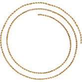 1.5mm Rope Chain(Replacing CH505)