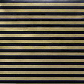 Black & Gold Stripe Gift Wrap