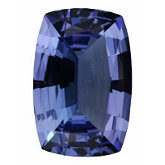 Antique Cushion Genuine Tanzanite (Black Box)