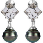 Aquarella® Accented Pearl Earrings