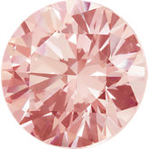 Round SWAROVSKI GEMSTONES™ Lab Created Morganite Pink Cubic Zirconia