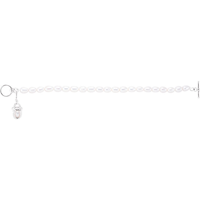 Sterling Silver Commitment Bracelet
