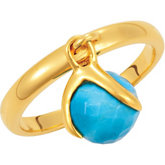 Missoma® Stackable Gemstone Ring