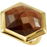 Missoma® Checkerboard Gemstone Cocktail Ring