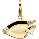 Diamond Sunfish Charm