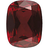 Antique Cushion Imitation Garnet