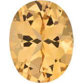 Oval SWAROVSKI GEMSTONES™ Genuine Honey Topaz