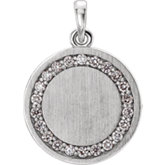 Engravable Necklace or Pendant