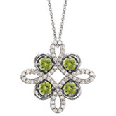 Clover Necklace or Pendant