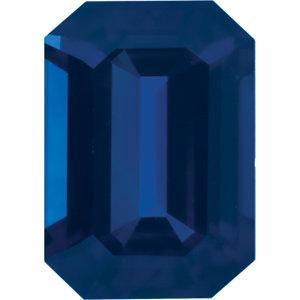 Sapphire Emerald 0.38 carat Blue Photo
