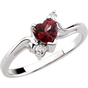 Gemstone Birthstone Rings