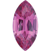 Marquise Chatham Created Pink Sapphire