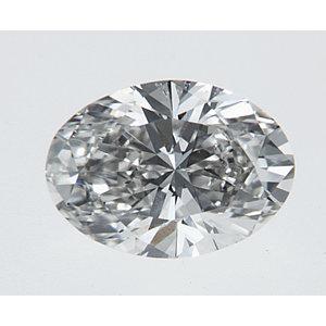 Oval 0.37 carat H VS1 Photo