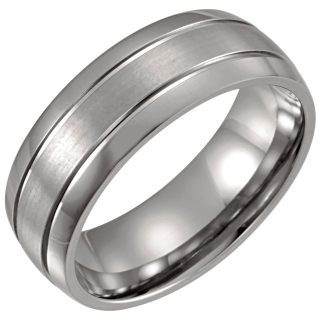 Titanium 8 mm Band Size 11.5