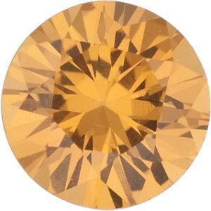 Sapphire Round 1.03 carat Yellow Photo
