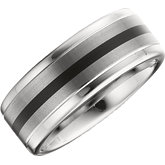 Tungsten Enamel Band