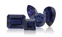 Genuine Iolite Gemstone Jewelry