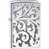 Zippo® Filigree High Polish Chrome Lighter