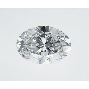 Oval 0.35 carat F VS2 Photo