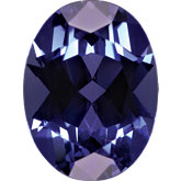 Oval Imitation Tanzanite