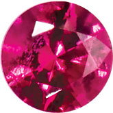 Round SWAROVSKI GEMSTONES™ Genuine Top Red Ruby