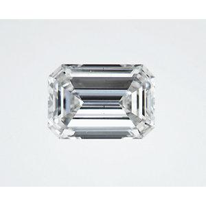 Emerald 0.49 carat H VS2 Photo