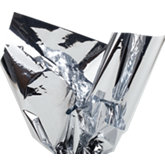 Silver Metallic Gift Wrap Tissue - Pack of 50
