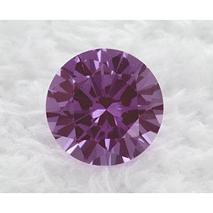 Sapphire Round 0.57 carat Purple Photo