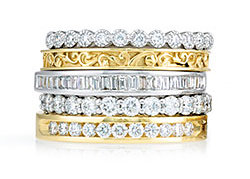 Anniversary Eternity Bands Wedding