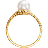 Rope Pearl Ring