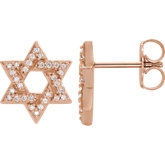 Star of David Earrings