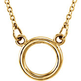 Tiny Posh® Circle Necklace