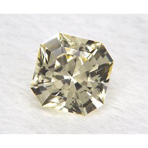 Sapphire Asscher 0.88 carat Yellow Photo