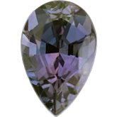 Pear Genuine Alexandrite (Black Box)