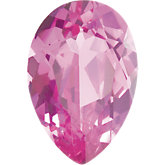 Pear Imitation Pink Tourmaline