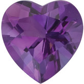 Heart Genuine Amethyst