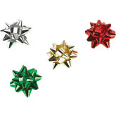 Metallic Star Bow Assortment - Pack of 200