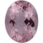 Oval Genuine Morganite (Black Box)