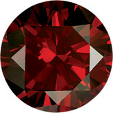 Round - Garnet Red Enhanced