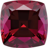 Antique Square Lab Created Ruby