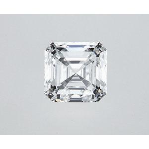 Asscher 0.60 carat E VVS2 Photo