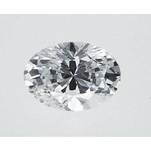 Oval 0.35 carat D I1 Photo