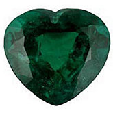 Heart Genuine Emerald (Black Box)