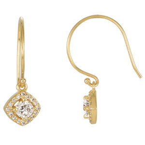 Earrings , 14K Yellow 5/8 CTW Diamond Earrings